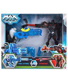 Max Steel Max versus Dredd Battle - 16 cm