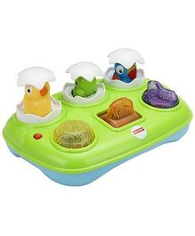 Fisher Price Musical Pop-Up Eggs - Green