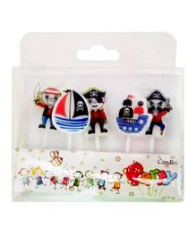 Party Propz Pirates Birthday Candle - Pack of 5