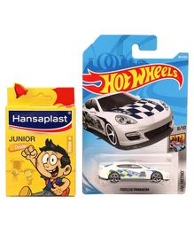 Hot Wheels Metro Porsche Panamera Toy Car(Colour & Style May Vary)