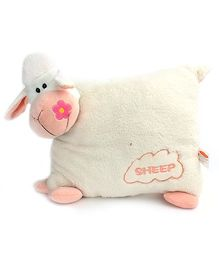 Play N Pets - Sheep Shaped Cushion White