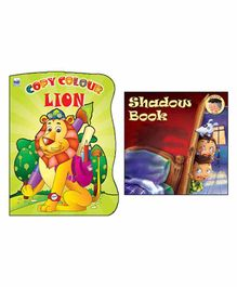 Macaw - Copy Colour Lion And Shadow Book