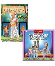 Macaw Pack Of 2 - A Day With Scientist Alexander Graham Bell - Chanakya