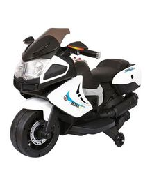 HLX-NMC Super Sports Battery Operated Bike - Black White