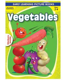 Macaw - Pre Nursery Vegetables With Sticker Inside