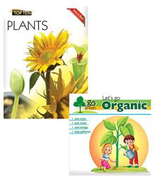 Macaw - Combo of Lets Go Organic and Facts and More Plants books