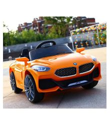 GetBest Battery Operated Z4 Ride on Car With Remote Control - Orange