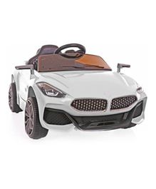 GetBest Battery Operated Z4 Ride-on Car - White