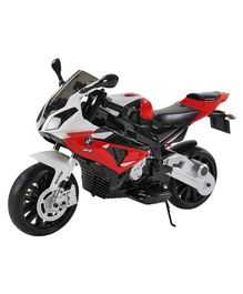 GetBest Officially Licensed BMW S 1000 RR Battery Operated Ride on Bike - Red