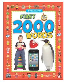 Dreamland - Word Books Dictionaries Phonics First 2000 Words