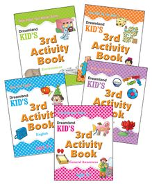 Kid's Third Activity Pack Of  5 Titles - English
