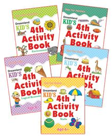 Kid's Fourth Activity Pack Of 5 Titles - English