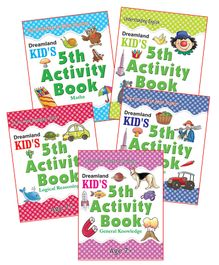Kid's Fifth Activity Pack Of 5 Titles - English