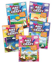 Dreamland - My Book of Art And Craft With Pack Of 5 Titles