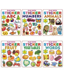 Dreamland - Sticker Book With Pack Of 6 titles