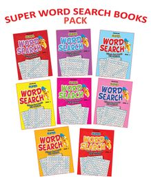Dreamland - Super Word Search 1 To 8 Titles