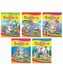 Dreamland - Funny Colouring With Pack Of 5 Titles