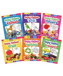 Dreamland - Copy Colour Book Of 1 to 6 Pack