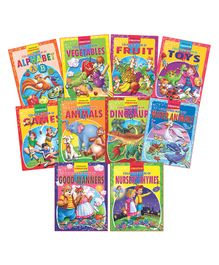 Dreamland - Creative Colouring book With Pack Of 10 Titles