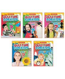 Dreamland Quiz Time for Kids - Pack Of 5 Titles