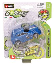 Bburago Pull Back Action Go Gear Car - Blue