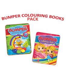 Dreamland - Bumper Colouring Books Combo Pack - English