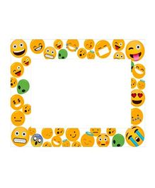 Party Propz Emoji Photo Frame - Yellow