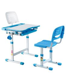 Alex Daisy Pluto Kids Height Adjustable Study Table & Chair - Blue