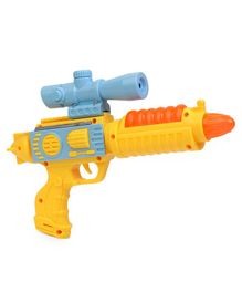Flash Gun Toy Yellow - Length 24 cm