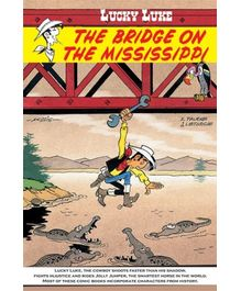 Euro Books- Lucky Luke The Bridge on the Mississippi