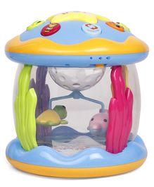 Rotating Musical Ocean Park Toy - Multicolor