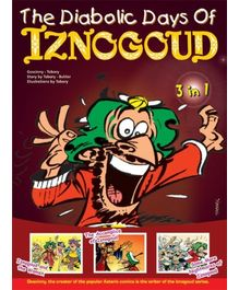Euro Books-The Diabolic Day's Of Iznogoud 3 In 1