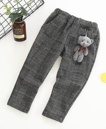 Pre Order - Awabox Full Length Bottom With Teddy Bear Attached - Grey