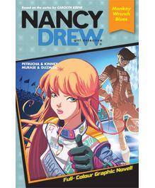 Nancy Drew- Monkey Wrench Blues Graphic Novel