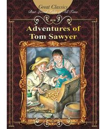 Euro Books - The Adventures Of Tom Sawyer Story Book