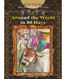 Euro Books- Around The World In 80 Days Great Illustrated Classics