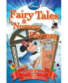 Disney- Pied Piper Mickey And The Town of Hamelin Story Book