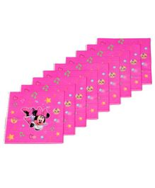 Funcart Minnie Mouse Themed Paper Napkins Set of 9 - Fuchsia