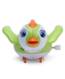 Bird Shaped Wind Up Toy - Green