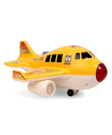 Airplane Toy With Light & Music - Yellow