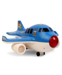 Airplane Toy With Light & Music - Blue