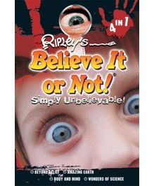 Euro Books - Believe It Or Not Simply Unbelievable  4 in 1