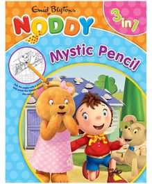Noddy - 3 In 1 Mystic Pencil Book