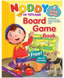Noddy - Noddy In Toy land Board Game With Free Dice And Counters