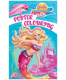 Barbie -  Mermaid Tale 2 Poster Coloring Book