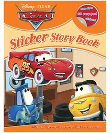 Disney - Pixar Cars Story Book With 40 Stickers