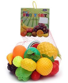 Luvely Play Fruit Set Of 18 Pieces - Multi Colour