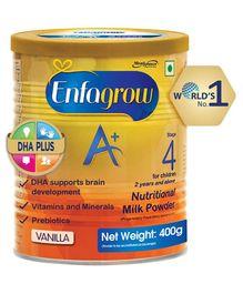 Enfagrow A+ Stage 4 Nutritional Milk Powder Vanilla - 400 grams