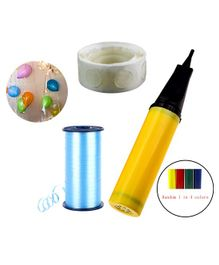 Party Propz 1 Balloon Pump 100 Glue Dot with 500 Meter Ribbon Decoration Material