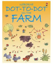 Usborne - Dot -To - Dot On The Farm